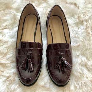 10 WIDE Dark Maroon Cloudwalker Loafers